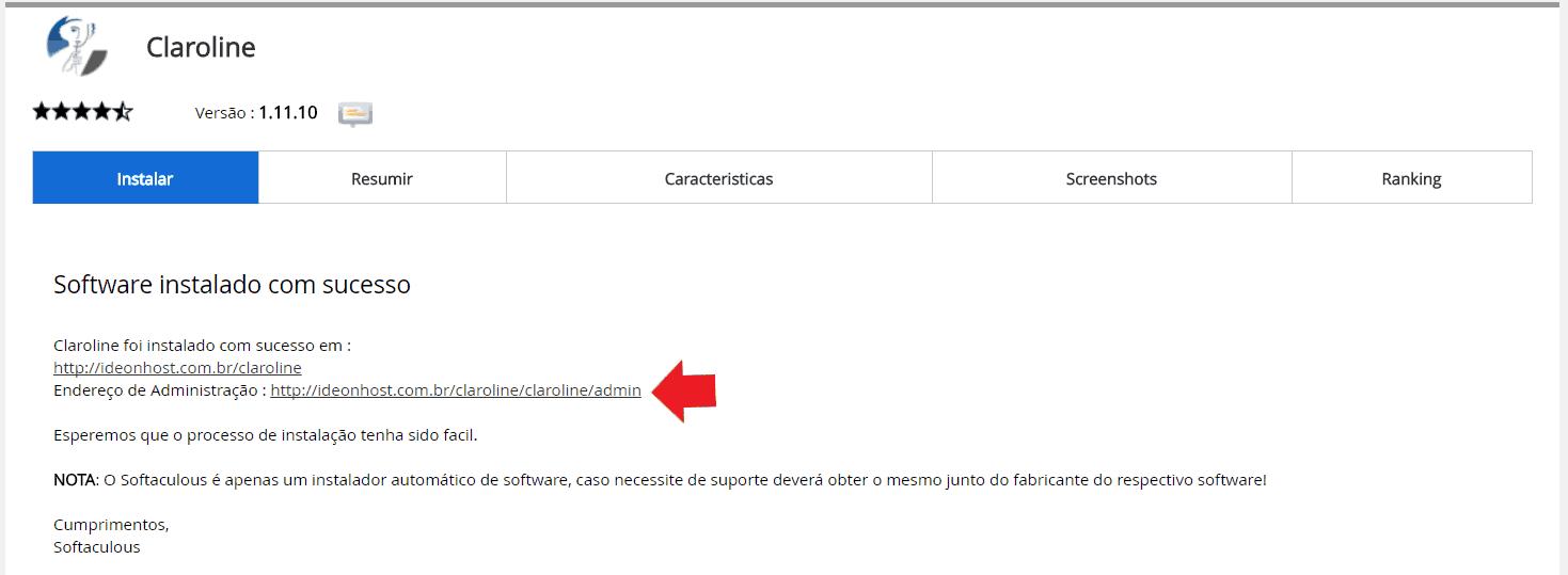 Instalador instalação como instalar Claroline
