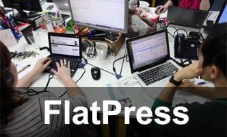 Instalador instalação como instalar FlatPress