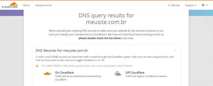 Como configurar o Cloudflare