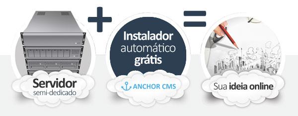 hospedagem anchor cms