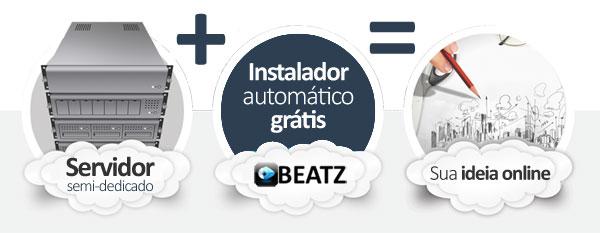 hospedagem beatz social network