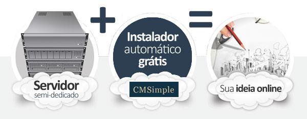 hospedagem CMSimple CMS