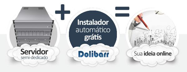 hospedagem Dolibarr CRM ERP