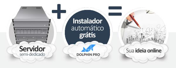 hospedagem Dolphin Social Network