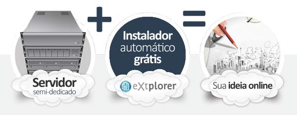 hospedagem eXtplorer File Manager