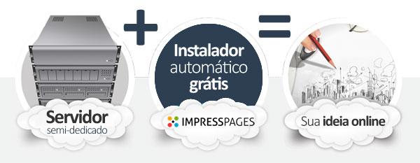 hospedagem ImpressPages CMS
