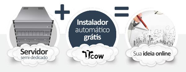 hospedagem Jcow Social Network