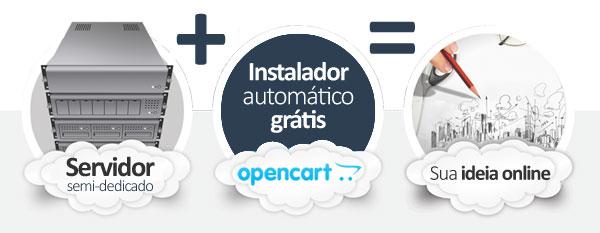 hospedagem OpenCart