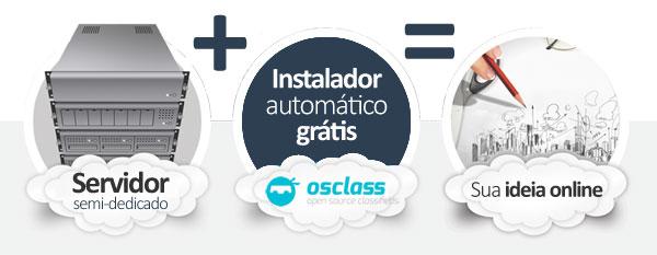 hospedagem OSClass