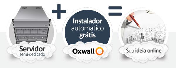 hospedagem Oxwall Social Network