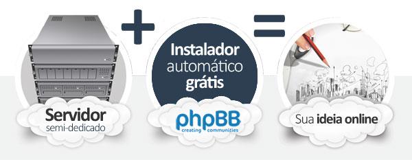 hospedagem phpBB Forum