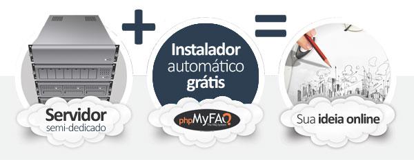 hospedagem phpMyFAQ