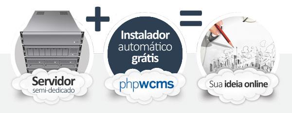 hospedagem phpwcms