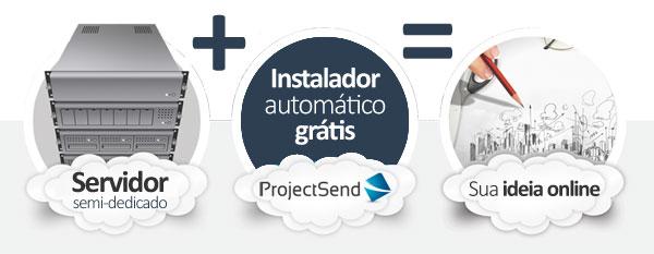 hospedagem ProjectSend