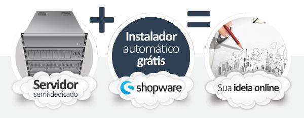 hospedagem Shopware E-commerce