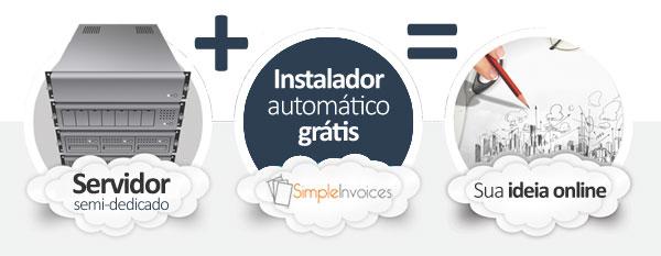 hospedagem SimpleInvoices E-commerce