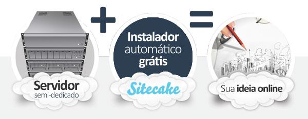 hospedagem SiteCake CMS
