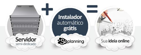 hospedagem SOPlanning Project Manager