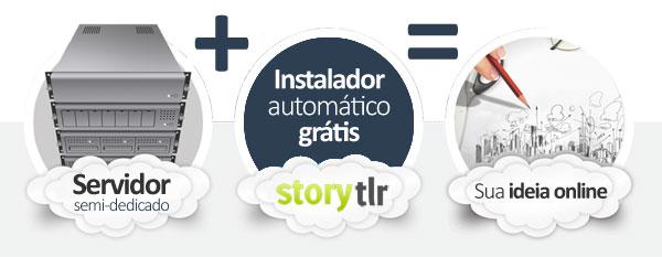 hospedagem Storytlr Micro Blog