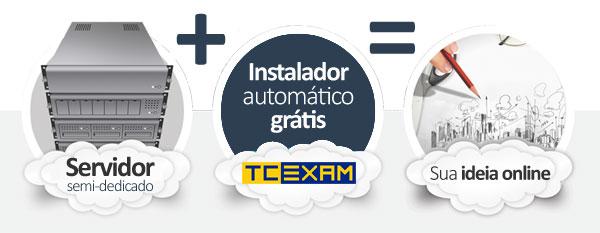 hospedagem TCExam