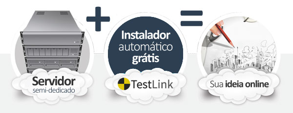 hospedagem TestLink Project Manager