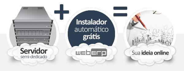 hospedagem webERP