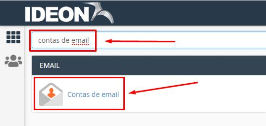 criar conta de e-mail no cPanel
